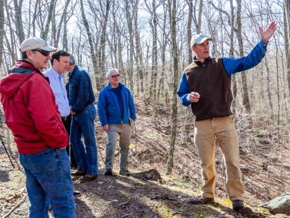Chris Cryder took U.S. Senator Chris Murphy on a tour through the center of The Preserve.