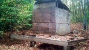 One of the shacks in The Preserve we will have fun demolishing.